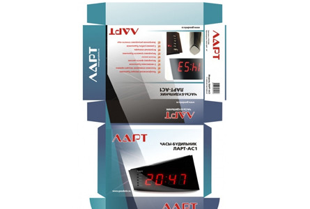 Lart Clock Packaging - photo №4 | Baren-Boym.com